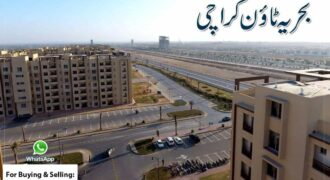 Flat Of 950 Square Feet In Bahria Town Karachi For Sale – Precinct 19