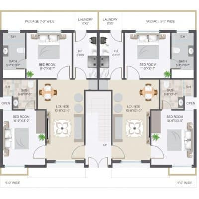 Portions & Floors for Sale in Bahria Orchard Phase 4 Lahore
