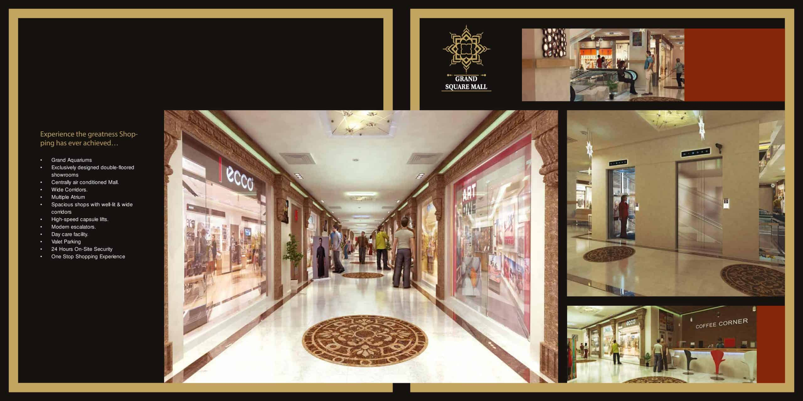 Lahore Shops for Sale Grand Square Mall Main Boulevard Gulberg