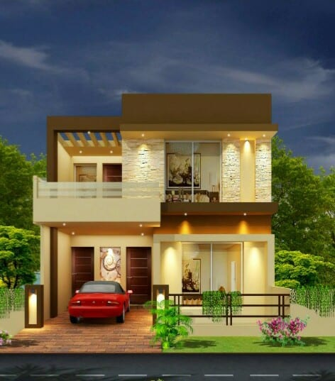 1125 Square Feets House In Bahria Best Option Orchard – Lahore