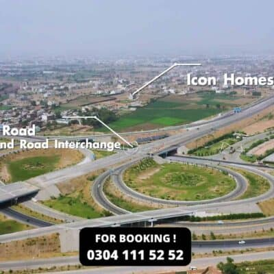 Icon Homes 5 Marla 2 Bedrooms On 4 Year Plan Flat Available For Sale