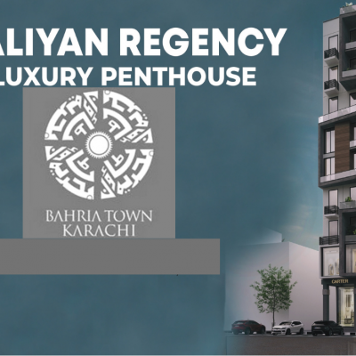 4 Bed Penthouse for Sale Bahria Town Karachi