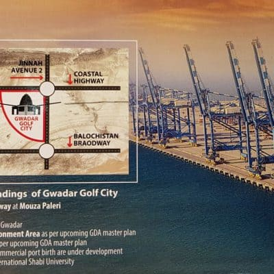 Gwadar Golf City Commercial Plots For Sale on 3 Years Installment Plan