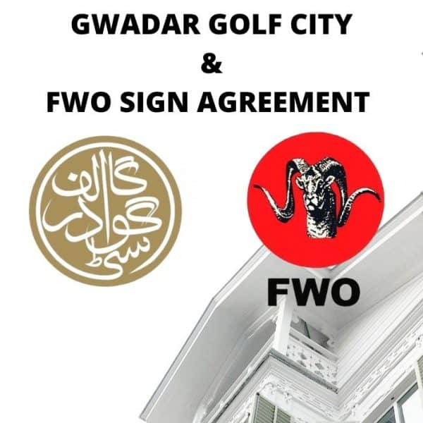 GWADAR GOLF CITY, FWO SIGN AGREEMENT TO ARRANGE FOR DRINKING WATER