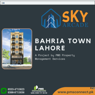 Basement Shop No B4 for Sale Sky Arcade Bahria Town Lahore