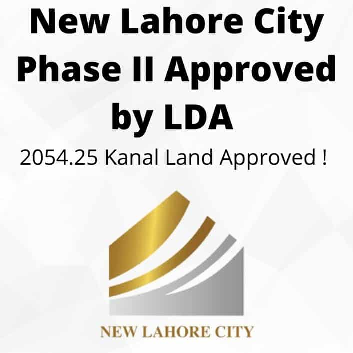 New Lahore City | Phase I & II LDA Approved Real Estate Project