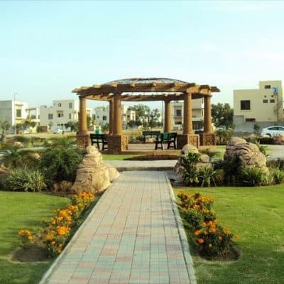 10 Marla Plot For Sale In LDA Approved Area Tulip Block